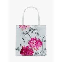 Ted Baker Iviecon Floral Small Shopper Bag, Grey/Multi