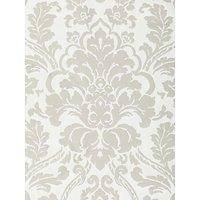 John Lewis & Partners Stockbridge Damask Furnishing Fabric, Grey