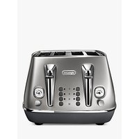 Buy De'Longhi CTI4003 Distinta Flair Toaster, 4-Slice - John Lewis