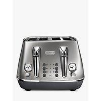 Buy De'Longhi CTI4003 Distinta Flair Toaster, 4-Slice - John Lewis & Partners