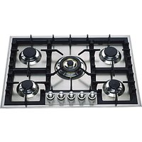 ILVE HP75C/I 70cm Gas Hob, Stainless Steel