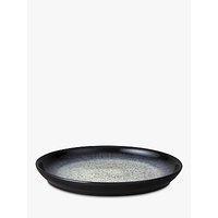 Denby Halo Dinner Plates, 26cm, Set of 4, Black