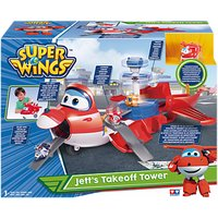 Super Wings Transforming Jett's Takeoff Tower