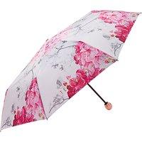 Ted Baker Pirou Babylon Print Umbrella, Grey/Pink