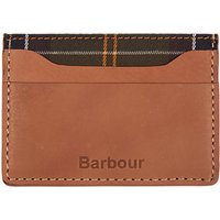 Barbour Leather Artisan Card Holder, Tan