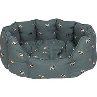Sophie Allport Pug Dog Bed, Small