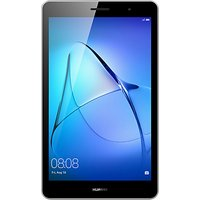 "Huawei MediaPad T3 8 Tablet, Android, Qualcomm MSM8917, 2GB RAM, 16GB eMMC, 8"", Grey"