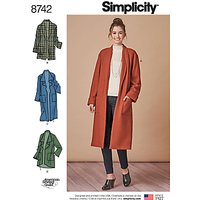 Simplicity Misses' Cardigan Sewing Pattern, 8742, XS-XL