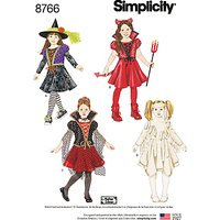 Simplicity Children's Costumes Sewing Pattern, 8766