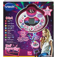 VTech Kidi Super Star Light Show, Pink