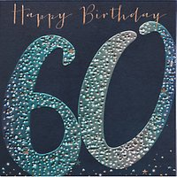 Belly Button Designs 60th Birthday Card