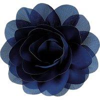 La St ©phanoise Medium Fabric Flower, Blue