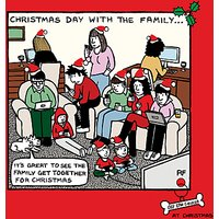Cardmix Family Get Together Christmas Card
