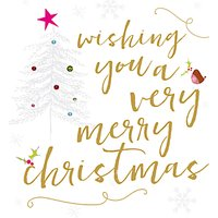 Caroline Gardner Ritz Christmas Card