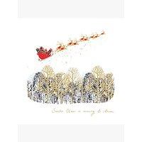 Woodmansterne Sleigh Ride Christmas Card