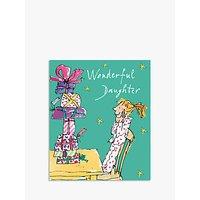 Woodmansterne Wonderful Daughter Christmas Card