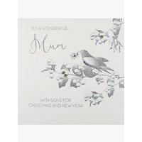 Five Dollar Shake Dove And Mistletoe Mum Christmas Card