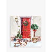 Ling Design Christmas Door Christmas Card