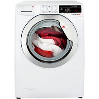 Hoover Dynamic Next DXOA48C3 Freestanding Washing Machine, A+++ Energy Rating, 8kg, 1400rpm