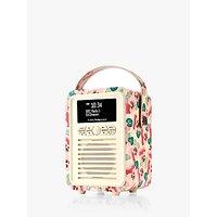 VQ Retro Mini DAB/FM Bluetooth Digital Radio, Emma Bridgewater Patterns, Pink Pansy