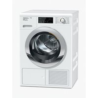 Miele TCJ680 Tumble Dryer, 9kg Load, A+++ Energy Rating, White