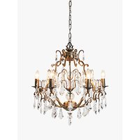 John Lewis and Partners Marianella Chandelier Ceiling Light, Bronze