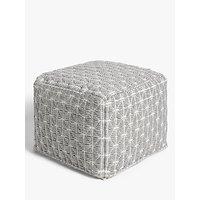 John Lewis & Partners Prism Bean Cube, Grey