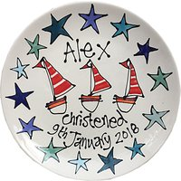 Gallery Thea Personalised Christening Plate
