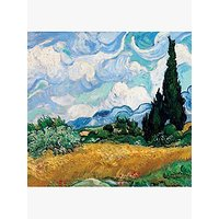 Quire Wheat Cypresses Card