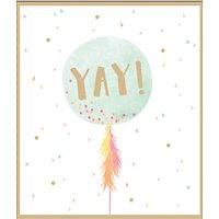 UK Greetings Yay Balloon Card