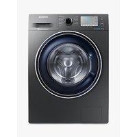 "Samsung WW90J5456FC ecobubbleâ"" Freestanding Washing Machine, 9kg Load, A+++ Energy Rating, 1400rpm Spin, Grey"