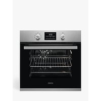 Zanussi ZZP35901XK Pyrolytic Built-in Single Electric Oven, Stainless Steel