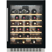 AEG SWE66001DG 52 Bottle Wine Cooler, Black