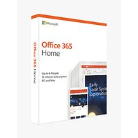 Microsoft Office 365 Home Premium, PC/Mac, Tablets and Smartphones, One-Year Subscription