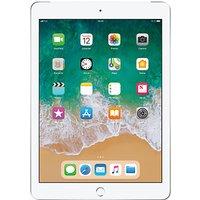 2018 Apple iPad 9.7, A10, iOS 11, Wi-Fi & Cellular, 32GB, Silver