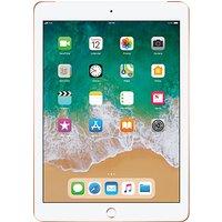 2018 Apple iPad 9.7, A10, iOS 11, Wi-Fi & Cellular, 32GB, Gold