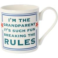McLaggan Smith Grandparents Mug, 300ml, White/Multi