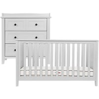 Silver Cross Nostalgia Cotbed and Dress, Dove Grey