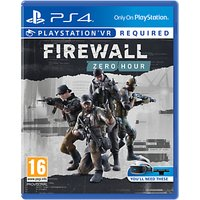 Firewall Zero Hour VR, PS4