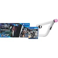 Sony PlayStation VR Aim Controller and Firewall Zero Hour VR Game for PS4