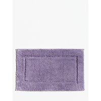John Lewis and Partners Deep Pile Bath Mat with Microfresh Technology, 50 x 80cm