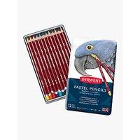 Derwent Pastel Pencils Tin, Set of 12