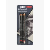 Derwent Charcoal Pencils, Set of 4