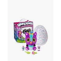 Hatchimals HatchiBabies Purple and Teal Speckled Egg