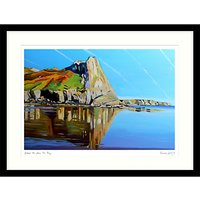 Emma Cownie - Great Tor From Tor Bay Framed Print & Mount, 64.5 x 84.5cm