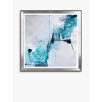 Natasha Barnes - Steel Dawn Embellished Framed Print, 93.5 x 93.5cm