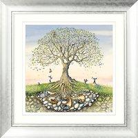 Catherine Stephenson - Rise And Shine Embellished Framed Print & Mount, 70 x 70cm