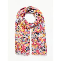Collection WEEKEND by John Lewis Vintage Floral Cotton Scarf, Multi