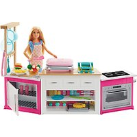 Barbie Ultimate Kitchen with Doll and Playdough Playset