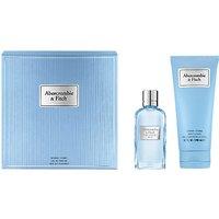 Abercrombie & Fitch First Instinct Blue Woman 50ml Eau De Parfum Gift Set
